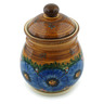8-inch Stoneware Jar with Lid - Polmedia Polish Pottery H5391I
