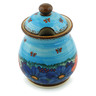 8-inch Stoneware Jar with Lid - Polmedia Polish Pottery H5392I
