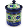 8-inch Stoneware Jar with Lid - Polmedia Polish Pottery H5594E