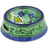 8-inch Stoneware Pet Bowl - Polmedia Polish Pottery H4457G