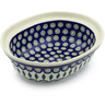 8-inch Stoneware Serving Bowl - Polmedia Polish Pottery H4488J
