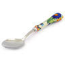 8-inch Stoneware Stainless Steel Spoon - Polmedia Polish Pottery H7831F