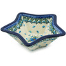 8-inch Stoneware Star Shaped Bowl - Polmedia Polish Pottery H0888I