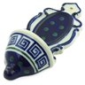 8-inch Stoneware Wall Pocket - Polmedia Polish Pottery H4394J