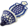 8-inch Stoneware Wall Pocket - Polmedia Polish Pottery H4398J