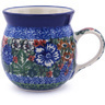 8 oz Stoneware Bubble Mug - Polmedia Polish Pottery H0089G
