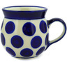 8 oz Stoneware Bubble Mug - Polmedia Polish Pottery H0438E