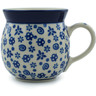 8 oz Stoneware Bubble Mug - Polmedia Polish Pottery H0974B