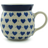 8 oz Stoneware Bubble Mug - Polmedia Polish Pottery H1755I
