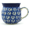 8 oz Stoneware Bubble Mug - Polmedia Polish Pottery H1931H