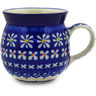 8 oz Stoneware Bubble Mug - Polmedia Polish Pottery H2039E
