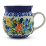 8 oz Stoneware Bubble Mug - Polmedia Polish Pottery H2154H