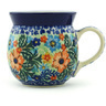 8 oz Stoneware Bubble Mug - Polmedia Polish Pottery H2198H