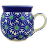 8 oz Stoneware Bubble Mug - Polmedia Polish Pottery H2219D