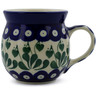 8 oz Stoneware Bubble Mug - Polmedia Polish Pottery H2452B