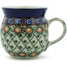 8 oz Stoneware Bubble Mug - Polmedia Polish Pottery H2501B