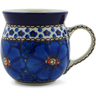 8 oz Stoneware Bubble Mug - Polmedia Polish Pottery H2511A