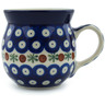 8 oz Stoneware Bubble Mug - Polmedia Polish Pottery H2537A