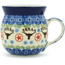 8 oz Stoneware Bubble Mug - Polmedia Polish Pottery H2545G