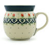 8 oz Stoneware Bubble Mug - Polmedia Polish Pottery H2606H