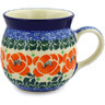 8 oz Stoneware Bubble Mug - Polmedia Polish Pottery H2753E