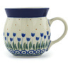 8 oz Stoneware Bubble Mug - Polmedia Polish Pottery H2844H