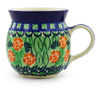 8 oz Stoneware Bubble Mug - Polmedia Polish Pottery H3925E