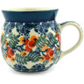 8 oz Stoneware Bubble Mug - Polmedia Polish Pottery H4104F
