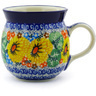 8 oz Stoneware Bubble Mug - Polmedia Polish Pottery H4146F