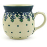 8 oz Stoneware Bubble Mug - Polmedia Polish Pottery H4469F