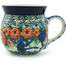 8 oz Stoneware Bubble Mug - Polmedia Polish Pottery H4553H