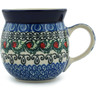 8 oz Stoneware Bubble Mug - Polmedia Polish Pottery H5268I