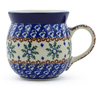 8 oz Stoneware Bubble Mug - Polmedia Polish Pottery H5759B