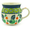 8 oz Stoneware Bubble Mug - Polmedia Polish Pottery H5780E