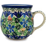 8 oz Stoneware Bubble Mug - Polmedia Polish Pottery H6858B