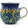 8 oz Stoneware Bubble Mug - Polmedia Polish Pottery H6869B