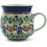 8 oz Stoneware Bubble Mug - Polmedia Polish Pottery H6879B