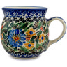 8 oz Stoneware Bubble Mug - Polmedia Polish Pottery H6880B