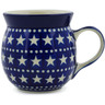 8 oz Stoneware Bubble Mug - Polmedia Polish Pottery H7095A