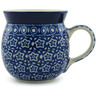 8 oz Stoneware Bubble Mug - Polmedia Polish Pottery H8175B