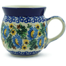 8 oz Stoneware Bubble Mug - Polmedia Polish Pottery H8278A
