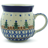 8 oz Stoneware Bubble Mug - Polmedia Polish Pottery H8955A