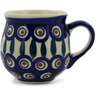 8 oz Stoneware Bubble Mug - Polmedia Polish Pottery H9378J