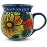 8 oz Stoneware Bubble Mug - Polmedia Polish Pottery H9623B
