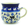 8 oz Stoneware Bubble Mug - Polmedia Polish Pottery H9683E