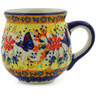 8 oz Stoneware Bubble Mug - Polmedia Polish Pottery H9954J