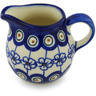 8 oz Stoneware Pitcher - Polmedia Polish Pottery H0451H