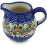 8 oz Stoneware Pitcher - Polmedia Polish Pottery H0629H