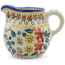 8 oz Stoneware Pitcher - Polmedia Polish Pottery H3051J