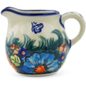 8 oz Stoneware Pitcher - Polmedia Polish Pottery H3957J